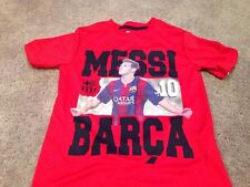 Messi Shirt. Polyester T Shirt Tee. Youth Medium. New.