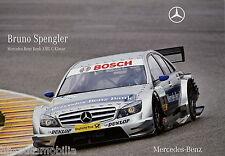Poster Mercedes AMG C-Klasse Bruno Spengler DINA3 Autoposter Rennwagen (Nr. 053)