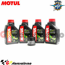 TAGLIANDO OLIO + FILTRO MOTUL 5100 10W40 MV AGUSTA 1000 F4 2006
