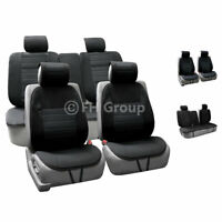High Quality Full Set Car Seat Cushion Pads Black For Car SUV Truck
