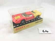 RARE DINKY TOYS # 132 FORD 40 RV CAR ORIGINAL BOXED DIECAST ORANGE NEAR MINT