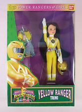 Ban Dai Power Rangers Yellow Ranger Trini - 1994 - Nrfb
