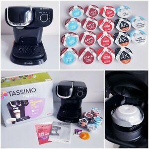 Bosch Tassimo My Way TAS6002GB Coffee Machine With Box and Capsules
