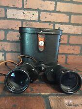Vintage Binoculars Oculus Hoya Amber Hard Coated 7 X 50 Field 7.1°