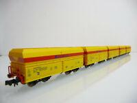 Minitrix N aus 15240 5-teiliger Selbstentladewagen Zug EISENBAHN UND HÄFEN GMBH