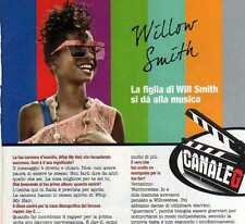Ga3 Clipping-Ritaglio 2011 Willow Smith ...la figlia di Will Smith si dà...