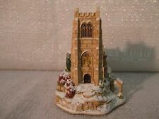 Lilliput Lane Winter Evensong 2002 Lamplight Village Collection L2713 Nib Deed