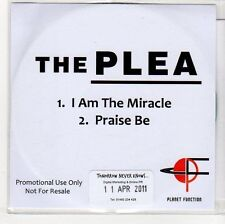 (EH882) The Plea, I Am The Miracle / Praise Be - 2011 DJ CD