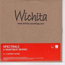 (EA733) Spectrals, A Heartbeat Behind - 2013 DJ CD