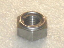 6x M10x1.25mm STAINLESS STAYTITE Nuts All Metal Self-Locking FINE THREAD