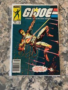 G.I. Joe #21 (Mar 1984) 1st Storm Shadow! Snake Eyes Silent Issue 1st Print