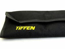 Tiffen Filter Wallet Mini Case Soft Pouch 49mm to 77mm fits holds  four filters