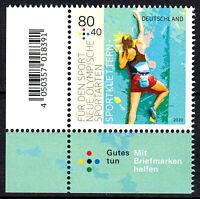 3542 postfrisch Ecke Eckrand links unten BRD Bund Deutschland Jahrgang 2020