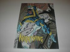 Dc Comics Teen Titans Nightwing Poster Pin Up