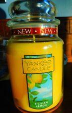 Yankee Candle Large 22oz Classic Jar Candle - Sicilian Lemon