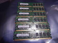 3gb Samsung (6x 512MB) 1Rx8 PC2-5300U DDR2 667 Mhz Desktop Ram  M378T6553EZS-CE6