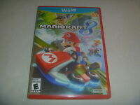 Super Mario Kart Cart 8 (2014) Nintendo Wii U Wiiu Game Complete Good Condition