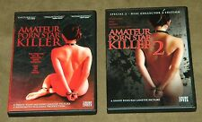 Amateur Porn Star Killer 1 and 2 DVD Lot Shane Ryan exploitation nudity