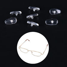 50 Pairs Screw-On Oval Silicone Nose Pads for Glasses Eyeglass New W,