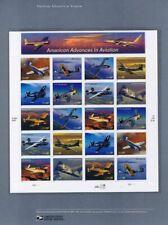 #740 37c Advances in Aviation MS20 #3916-3925 USPS Commemorative Stamp Panel