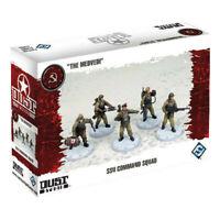 Dust Tactics - The Medvedi SSU Command Squad - Brand New - FFG - FAST SHIPPING!
