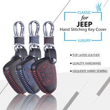Key Cover Case for Dodge Chrysler Journey Jeep Wrangler Cherokee Liberty Compass