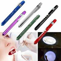 Mini First Aid LED Pen Light Flashlight Torch Doctor Nurse EMT Emergency Tool ~
