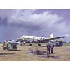 NOSTALGIC aeromobili Saluti cartolina canale Airways DOUGLAS DC-4 NUOVO