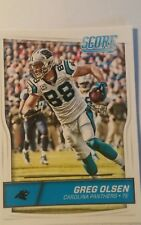 NFL Trading Card Greg Olsen Carolina Panthers Score 2016 Panini