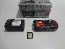 Ricoh WG-60 16.0MP Digital Camera - Carbon Red Color - (Grade A-)