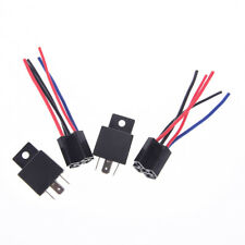 DC 24v 40a car spdt automotive relay 5 pin 5 wires w/harness jd1914_vi