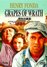 The Grapes of Wrath (1940) - Henry Fonda, Jane Darwell - DVD NEW