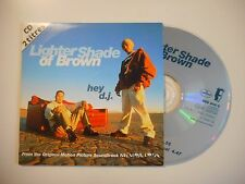 HEY D.J. : LIGHTER SHADE OF BROWN / OLD NEW SCHOOL [ CD SINGLE ]