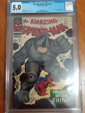 Amazing Spiderman # 41 cgc 5.0.