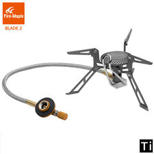 Fire Maple Split Gas Titanium Alloy Outdoor Camping Cooker Gas Burner Stove 135g