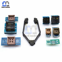 8 Programmer Adapters Sockets Kit for TL866II Plus TL866A EZP2010 IC Extractor