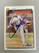 Jeff Innis - Autographed 1992 U.D. Baseball Card New York Mets, pitcher