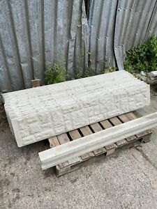 6ft concrete gravel boards (posts Also Available) UK Wide Delivery