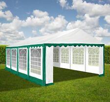 XXL 4x8 m PVC Bierzelt Zelt Pavillon Partyzelt Festzelt Verein Gartenzelt grün
