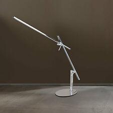 WOFI LED Lámpara de MESA Orbit cromado 1 Luz Interruptor Ajustable Altura 67cm