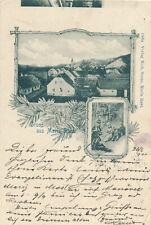 Marburg Drau Maribor Slovenia MARIBORU Maria Rast Sernc, 1900 Unikat ! Marke