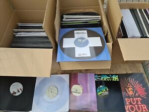DANCE MUSIC VINYL RECORDS COLLECTION - DJ BUNDLE NEW SEALED/UNPLAYED! JOB LOT 2