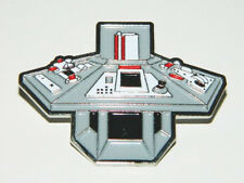 Doctor Who Fan Club Tardis Console Cloisonne Pin (c) 1982, NEW UNUSED