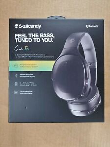 Skullcandy - Crusher Evo Over-the-Ear Wireless Headphones - True Black