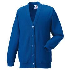 Cardigan blu in misto cotone per bambine dai 2 ai 16 anni
