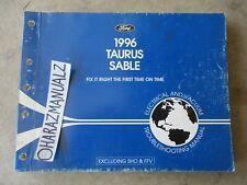 1996 Ford Taurus Mercury Sable Wiring Diagrams Manual OEM