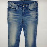 G-Star Lynn Mid Skinny WMN 60885 W31 L30 blau Damen Designer Denim Jeans Hose