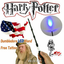 Harry Potter Professor Dumbledore's Wand The Elder Led Wand in Box Great Gift