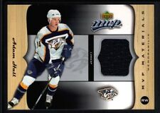 ADAM HALL 2005/06 UD UPPER DECK MVP MATERIALS RELIC GAME USED JERSEY SP $20
