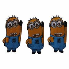 Disney's Despicable Me Movie Minion Embroidered Patch Set of 3